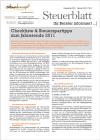 Steuerblatt Dezember 2011