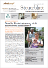 Steuerblatt Februar 2012