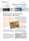 Steuerblatt April 2012