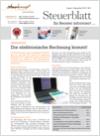Steuerblatt August 2012