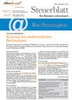 Steuerblatt April 2013