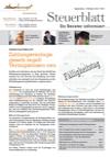 Steuerblatt Oktober 2013