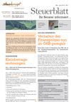 Steuerblatt Juni 2014