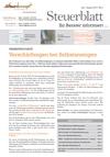 Steuerblatt August 2014