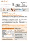 Steuerblatt Februar 2015