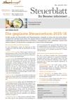 Steuerblatt Mai 2015