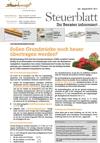 Steuerblatt Juli 2015