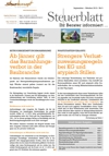 Steuerblatt September 2015