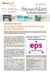 Steuerblatt Jänner 2016