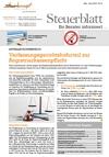 Steuerblatt Mai 2016