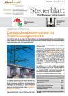 Steuerblatt September 2016
