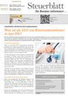 Steuerblatt Jänner 2017