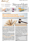 Steuerblatt September 2017