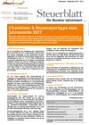 Steuerblatt November 2017