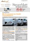 Steuerblatt Juli 2018