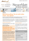 Steuerblatt September 2018
