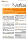 Steuerblatt November 2018
