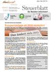 Steuerblatt Jänner 2019