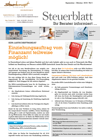 Steuerblatt September 2019