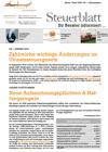 Steuerblatt Jänner 2020