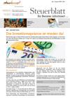 Steuerblatt Juli 2020