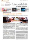 Steuerblatt September 2020