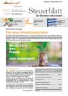 Steuerblatt November 2020