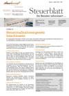Steuerblatt Jänner 2021