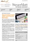 Steuerblatt Mai 2021